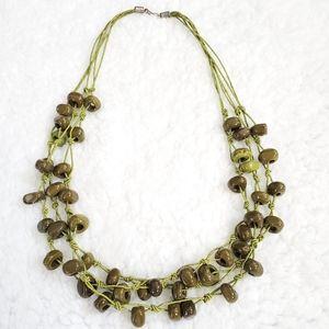 Cool handmade statement necklace